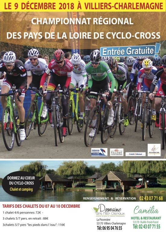 Cyclo Cross Calendrier.Villiers Charlemagne 53 Championnats Regionaux De Cyclo