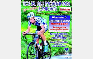 SELECTION 53 JUNIOR POUR LE TOUR DU MORBIHAN 06 SEPTEMBRE 2020